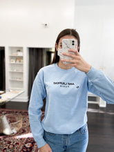 Load image into Gallery viewer, Aint Laurent Sweatshirt in Baby Blue