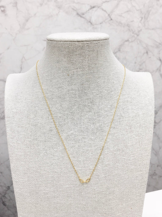 Chain Link Necklace in Gold