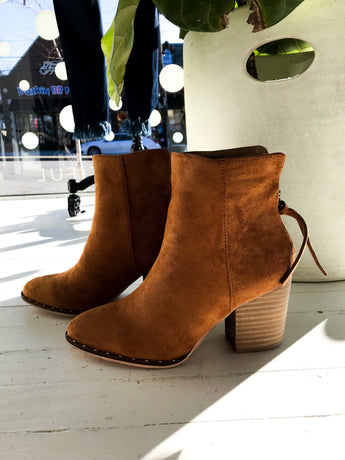 Weslee Booties in Camel