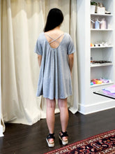 Load image into Gallery viewer, Peregrine Flare Knit Dress in Heather Grey