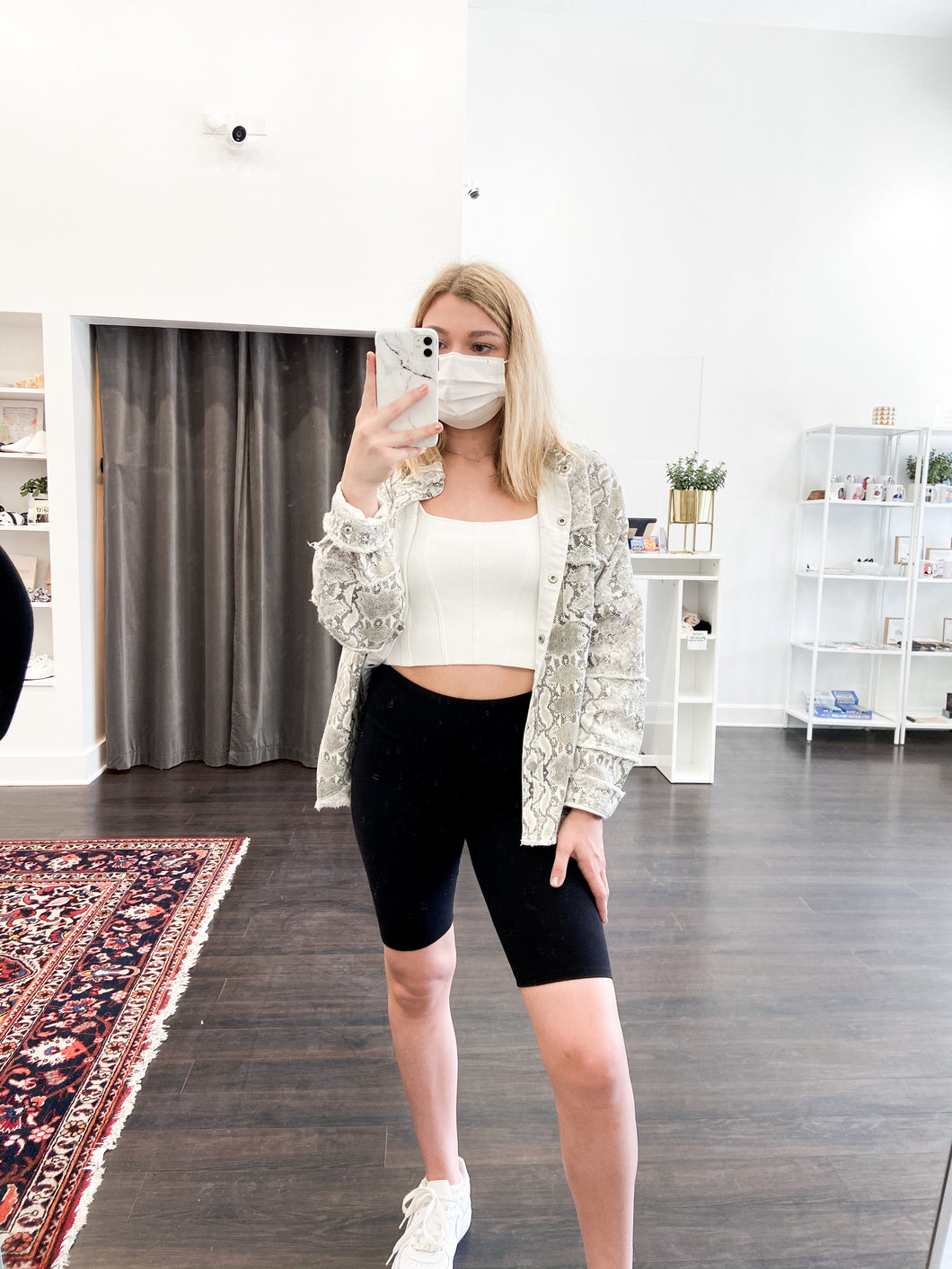 Nicole Biker Shorts in Black