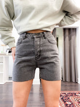 Load image into Gallery viewer, Leninox Denim Shorts in Grey