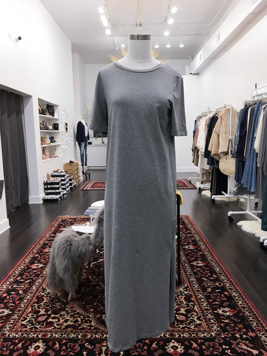Dani Dress in Heather Grey