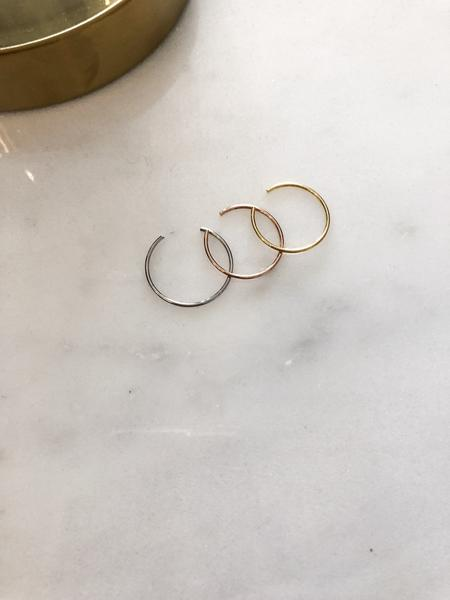 Tri-Curve Rings in 14k Gold Fill