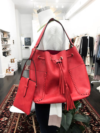 Kingdom 3 in 1 Purse in Red