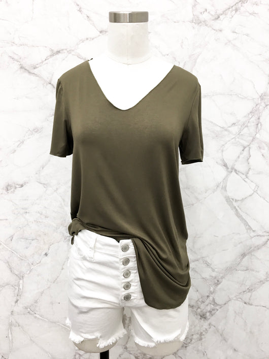 Everyday Short Sleeve Tee in Olive