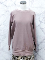 James Pocketed Sweatshirt in Mauve