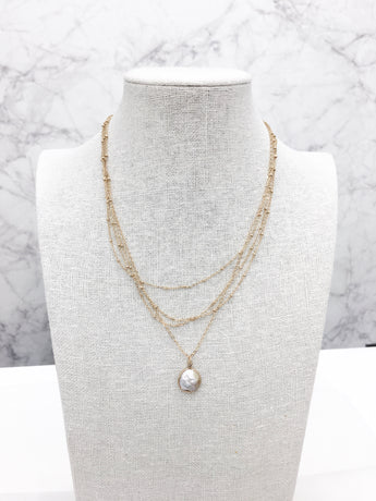 Pearl Layers Necklace