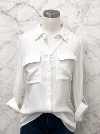Francine Blouse in White