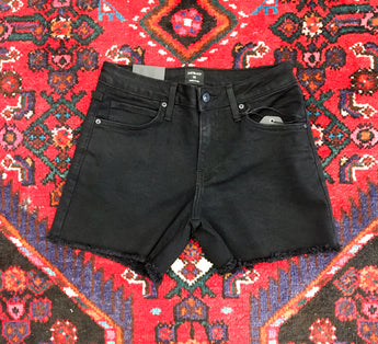 Modern Bermuda Shorts in Black - Final Sale