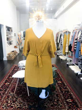 Kokomo Dress in Mustard