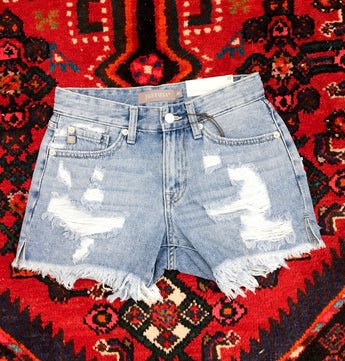 Daydream Frayed Denim Shorts - Final Sale