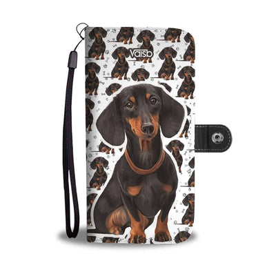 Cute Dachshund - RFID-Blocking Wallet Case