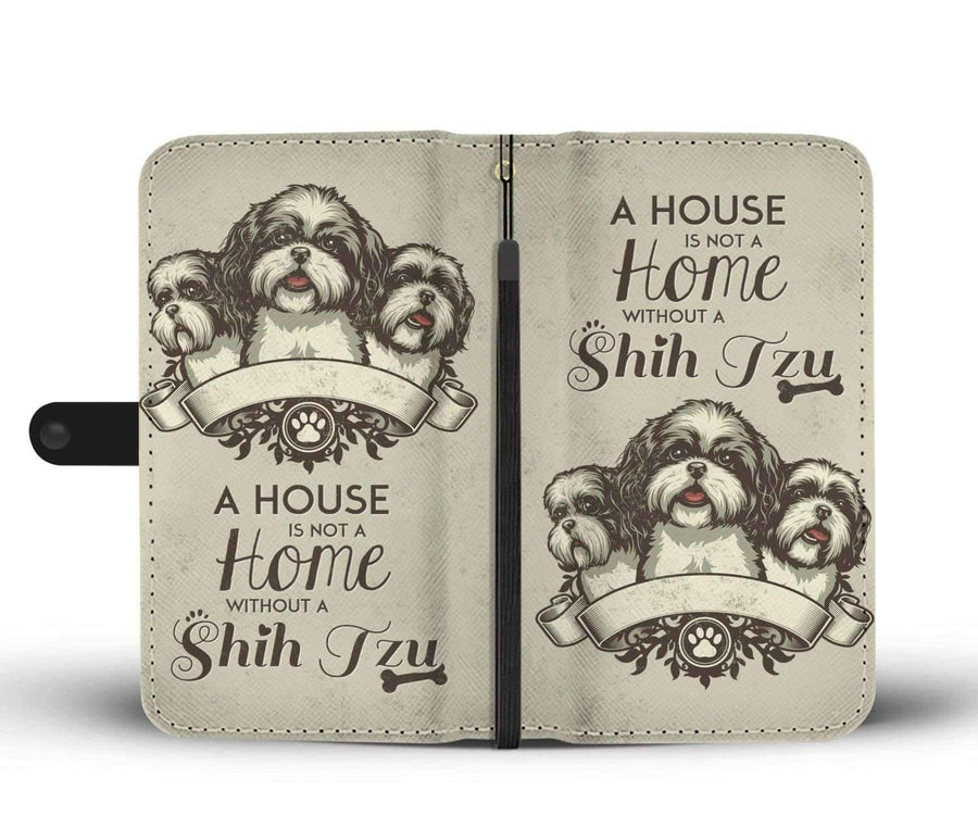Shih Tzu - Custom Made RFID-Blocking Wallet Case