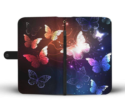 Butterflies - Custom Made RFID-Blocking Stunning Wallet Case