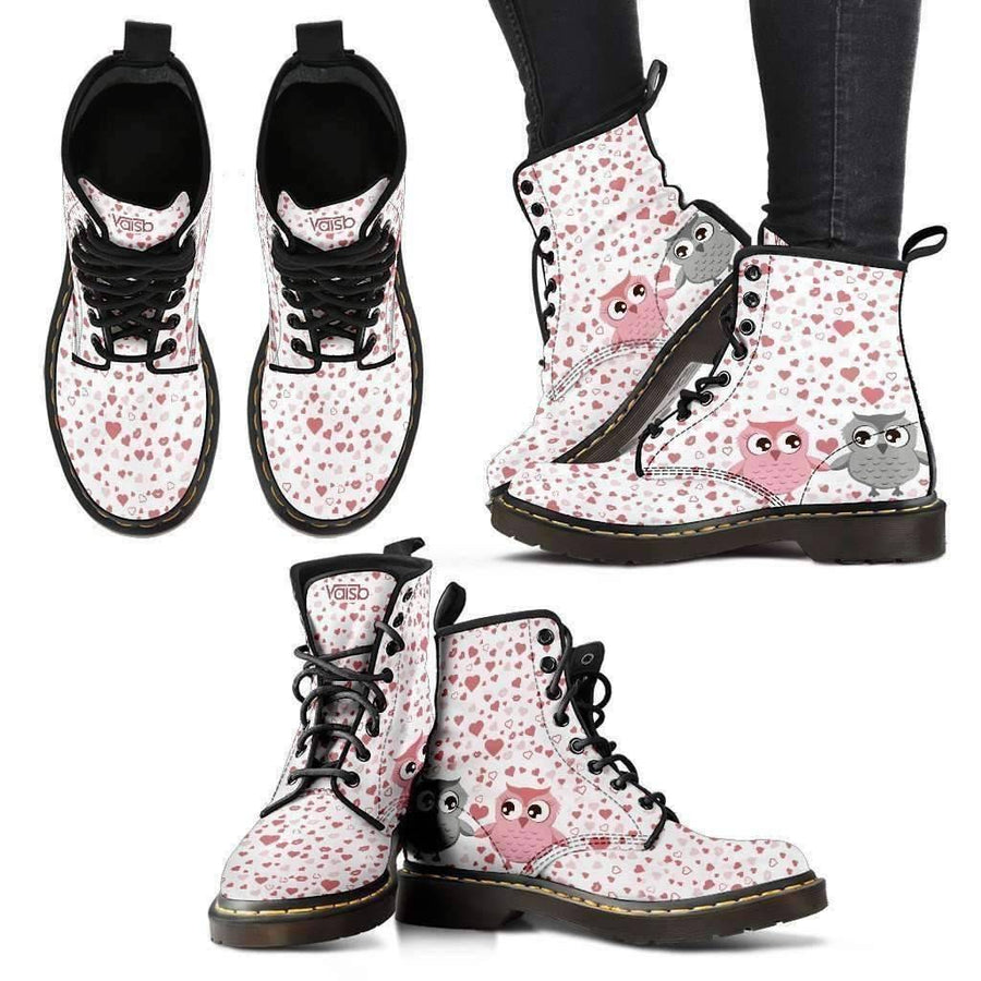 Cute Owl - Women's Boots