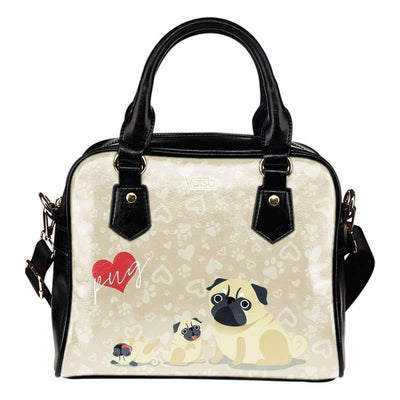 Cute Pug - Shoulder Handbag