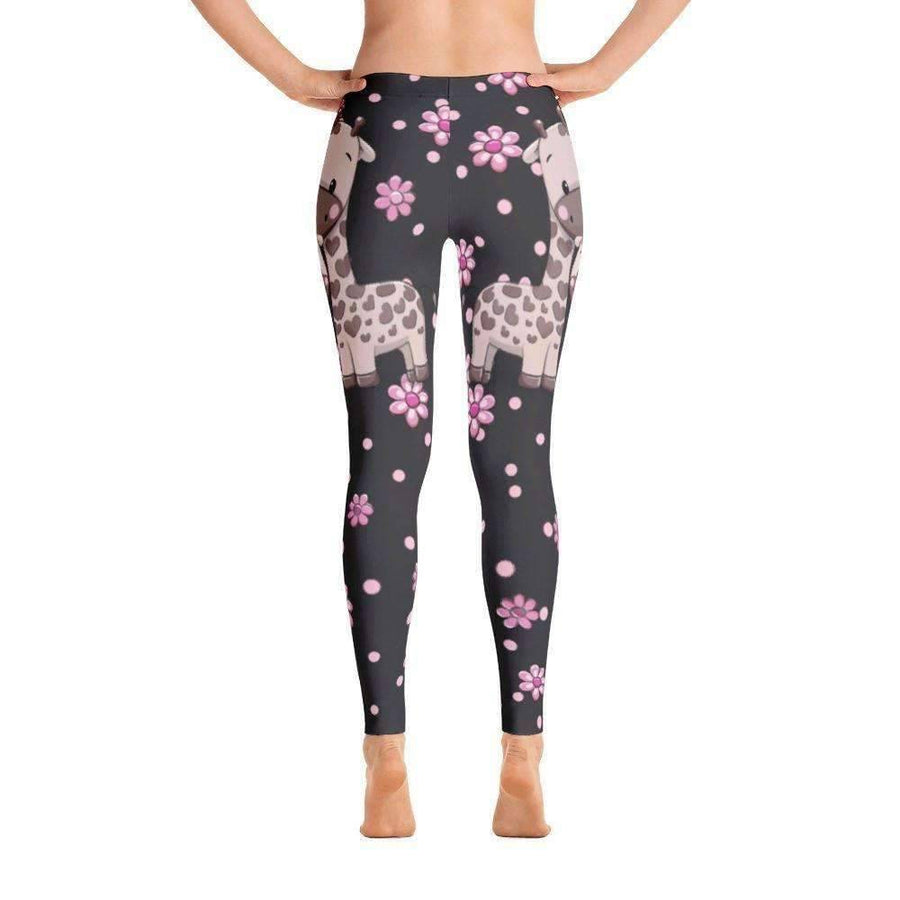 Giraffe - Leggings (Black)