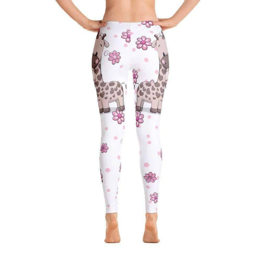 Giraffe - Leggings (White)