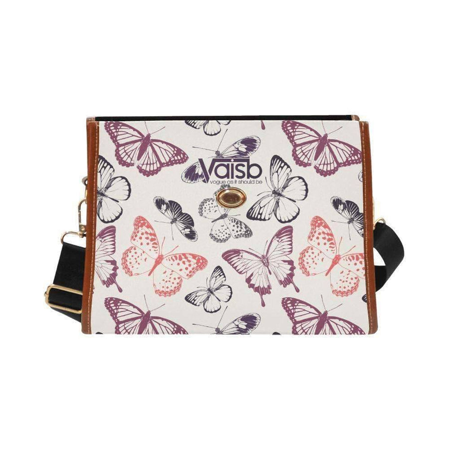 Handbags - Butterfly Waterproof Canvas Bag From Our Butterfly Collection