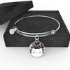 Jewelry - Meow Cat - Adjustable Bangle Bracelet (Black)