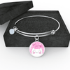 Jewelry - Meow Cat - Adjustable Bangle Bracelet (Pink)