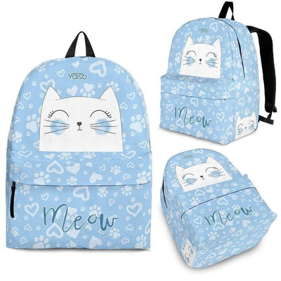 Kids Backpacks - Meow Cat - Backpack