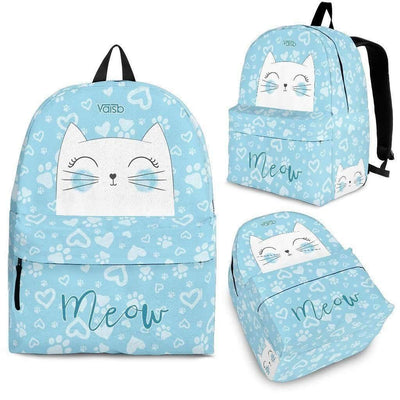 Meow Cat Backpack Vaisb