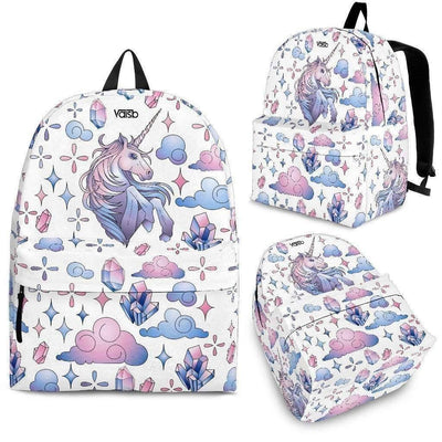 Kids Backpacks - Unicorn - Backpack (White)