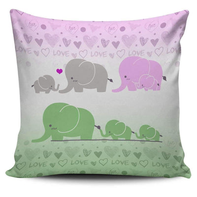Pillow Cover - Cute Elephant - Pillow Covers