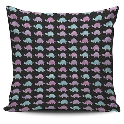 Pillow Cover - Cute Turtle - Pillow Cover