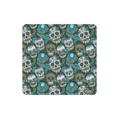 Purse - Blue Sugar Skull Clutch Purse