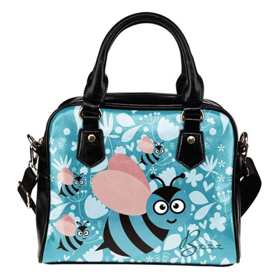 Shoulder Handbag - Cute Bee - Shoulder Handbag