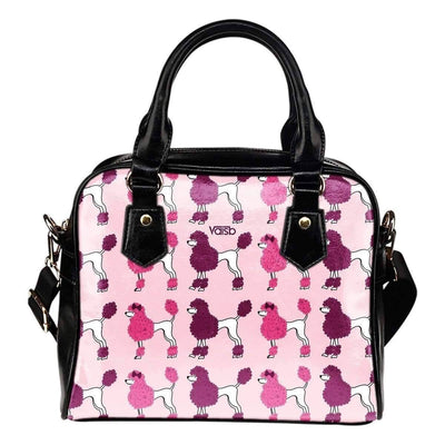 Shoulder Handbag - Poodle - High Quality Shoulder Bag
