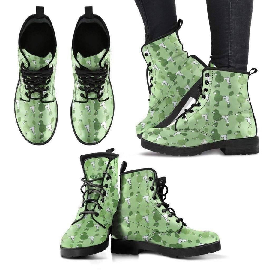 Womens Leather Boots - Poodle - Womens Leather Boots