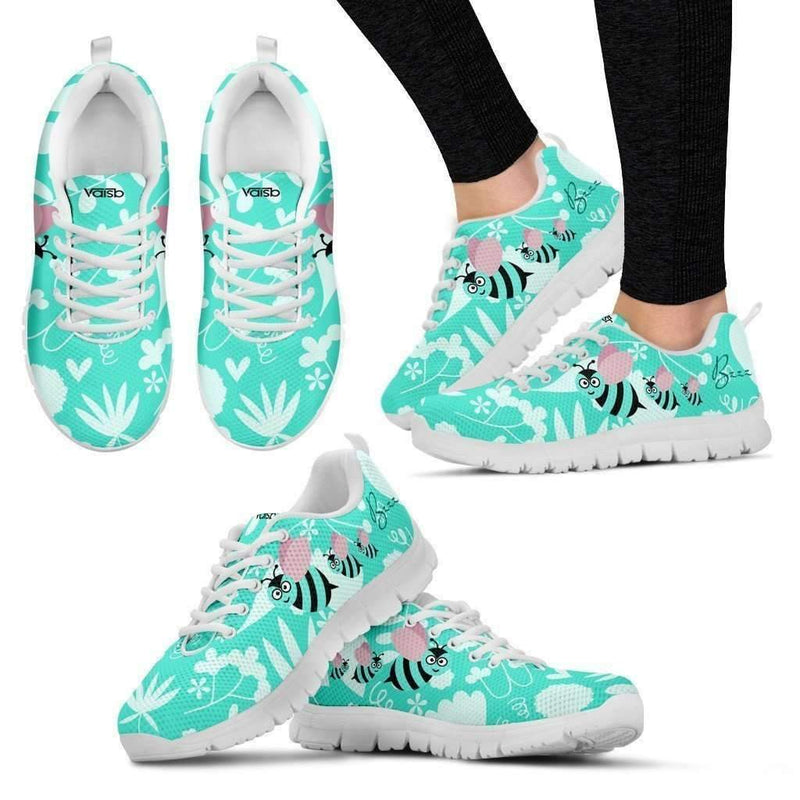 Cute Bee Breathable Lightweight Women S Running Shoes