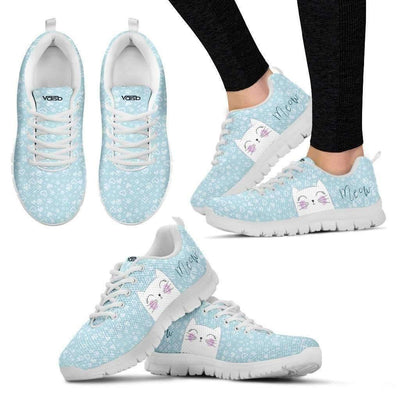 Womens Runners - Meow Cat - Breathable & Lightweight Women's Running Shoes