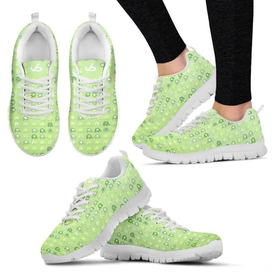 Womens Runners - Small Elephants -  Breathable & Lightweight Women's Running Shoes