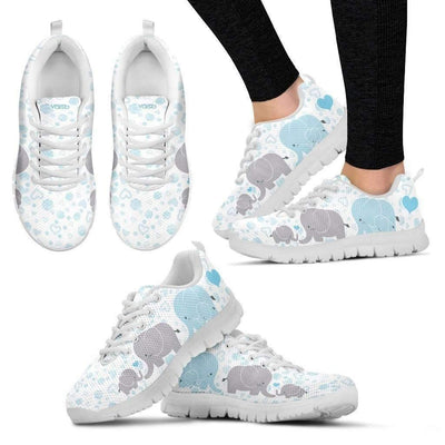 Womens Runners - WOMENS Cute Elephant - Breathable & Lightweight Running Shoes