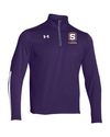 "Adult Under Armour Qualifier 1/4 Zip | S-Shield ""Tigers"" Embroidery"