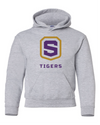 Youth Heavy Blend Hooded Sweatshirt | Tigers Shield
