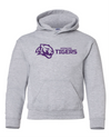 Youth Heavy Blend Hooded Sweatshirt | Horizontal Tiger