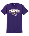 Adult Cotton Short Sleeve T-Shirt | Tigers Spirit