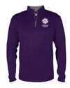 Youth Quarter-Zip Pullover | Spencer Tigers Paw Embroidery