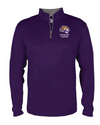Youth Quarter-Zip Pullover | Spencer Tigers - Tiger Head Embroidery