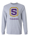 Adult Long Sleeve Cotton Shirt | Tigers Shield