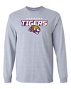 Adult Long Sleeve Cotton Shirt | Tigers Spirit