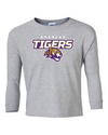 Youth Long Sleeve Cotton Shirt | Tigers Spirit