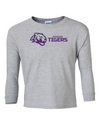 Youth Long Sleeve Cotton Shirt | Horizontal Tiger
