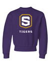 Youth NuBlend Crewneck Sweatshirt | Tigers Shield